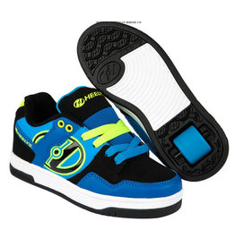 Heelys Flow Royal zwart lime sneakers kids