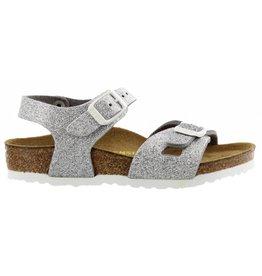 Birkenstock Rio Magic Galaxy narrow zilver slippers meisjes