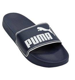 Puma Leadcat badslippers blauw heren