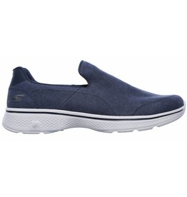 Skechers Go Walk 4 Magnificent 54153 NVGY blauw sneakers