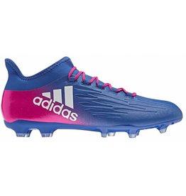 Adidas X 16.2 FG blauw voetbalschoenen heren