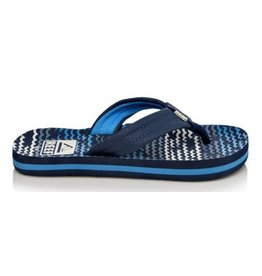 Reef Little AHI blue horizon slippers kids