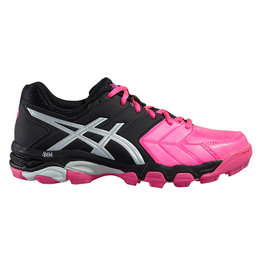 Asics Gel Hockey Blackheath 6 zwart roze hockeyschoenen dames