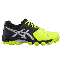 Asics Gel Hockey Blackheath 6 zwart geel hockeyschoenen kids