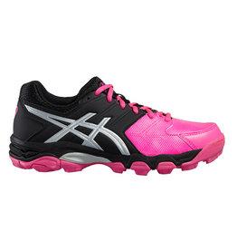 Asics Gel Hockey Blackheath 6 zwart roze hockeyschoenen meisjes