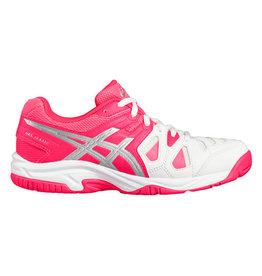 Asics Gel Game 5 GS roze wit tennisschoenen meisjes