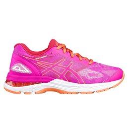 Asics Gel Nimbus 19 GS roze hardloopschoenen meisjes