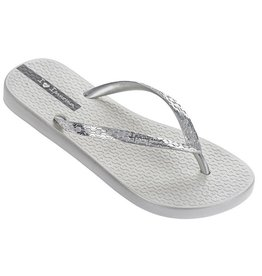 Ipanema Glam zilver slippers dames