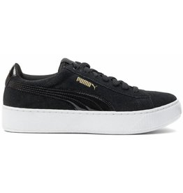 Puma Vikky platform zwart wit sneakers dames