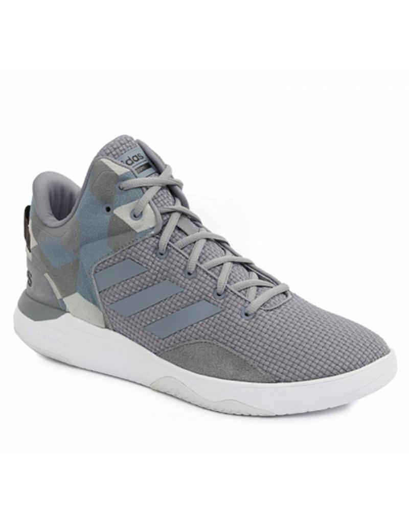 Adidas Adidas Cloudfoam Revival mid grijs sneakers heren