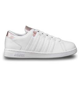 K-Swiss Lozan III TT wit metallic roze dames sneakers