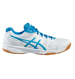 Asics Gel Upcourt GS wit blauw indoor schoenen kids