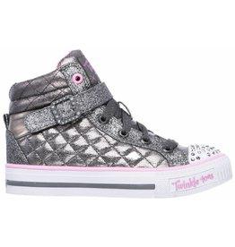 Skechers Twinkle Toes Shuffles glitter sneakers meisjes