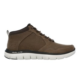 Skechers Flex Advantage 2.0 mid bruin sneakers heren