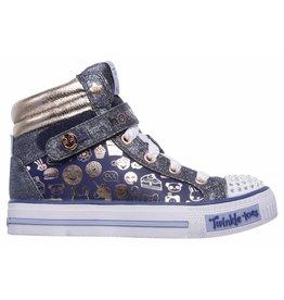 Skechers Shuffles Giggle Glam sneakers meisjes