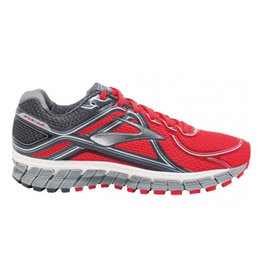 Brooks Adrenaline GTS 16 rood hardloopschoenen heren