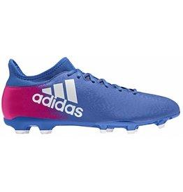 Adidas X 16.3 FG blauw voetbalschoenen heren