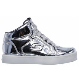 Skechers Energy Lights Eliptic zilver sneakers meisjes