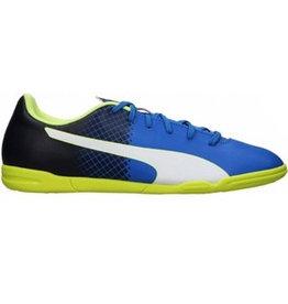 Puma evoSPEED 5.5 FG Jr blauw voetbalschoenen kids