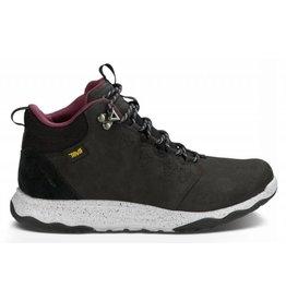 Teva W Arrowood Lux Mid WP zwart wandelschoenen dames