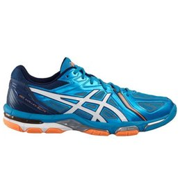 Asics Gel Volley Elite 3 blauw volleybalschoenen heren