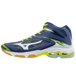 Mizuno Wave Lightning Z3 Mid blauw volleybalschoenen heren