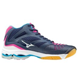 Mizuno Wave Lightning Z3 Mid zwart volleybalschoenen dames