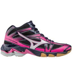 Mizuno Wave Bolt 6 Mid zwart volleybalschoenen schoenen dames