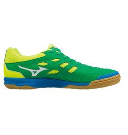 Mizuno Sala Classic 2 groen geel zaalvoetbalschoenen heren