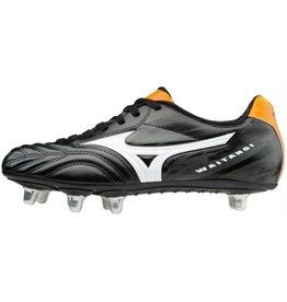 Mizuno Waitangi CL zwart oranje rugbyschoenen heren