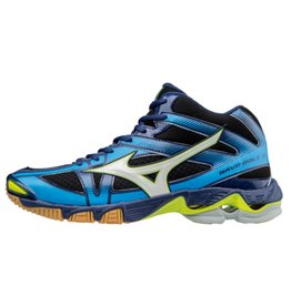 Mizuno Wave Bolt 6 Mid blauw volleybalschoenen heren