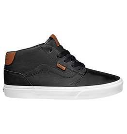 Vans MN Chapman Mid leather zwart sneakers heren
