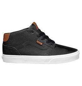 Vans MN Chapman Mid leather zwart sneakers heren