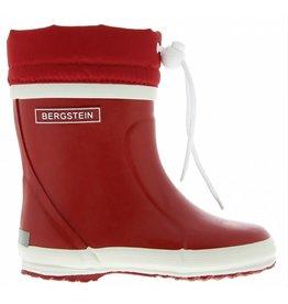 Bergstein Winterboot rood regenlaarzen uni