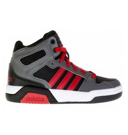 Adidas BB9TIS Mid grijs rood sneakers kids