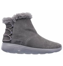 Skechers On The Go City Hibernate grijs winterlaarzen dames