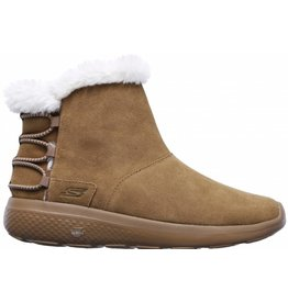 Skechers On The Go City Hibernate beige winterlaarzen dames