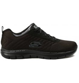 Skechers Flex Appeal 2.0 Break zwart sneakers dames