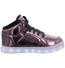 Skechers Energy Lights Gun metal sneakers Kids