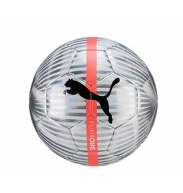 Puma One Chrome zilver voetbal