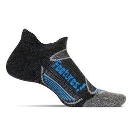Feetures Elite Merino+ Cushion zwart sportsokken uni