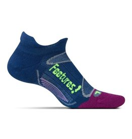 Feetures Elite Merino+ Cushion blauw sportsokken dames