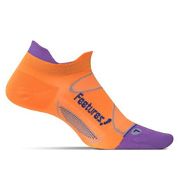 Feetures Elite Ultra Light oranje sportsokken uni