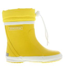 Bergstein Winterboot geel regenlaarzen uni
