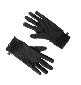 Asics Basic Performance hardloophandschoenen zwart uni
