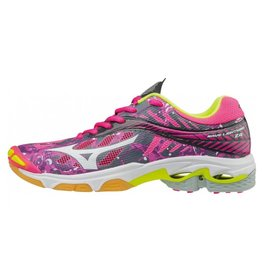 Mizuno Wave Lightning Z4 roze indoor schoenen dames