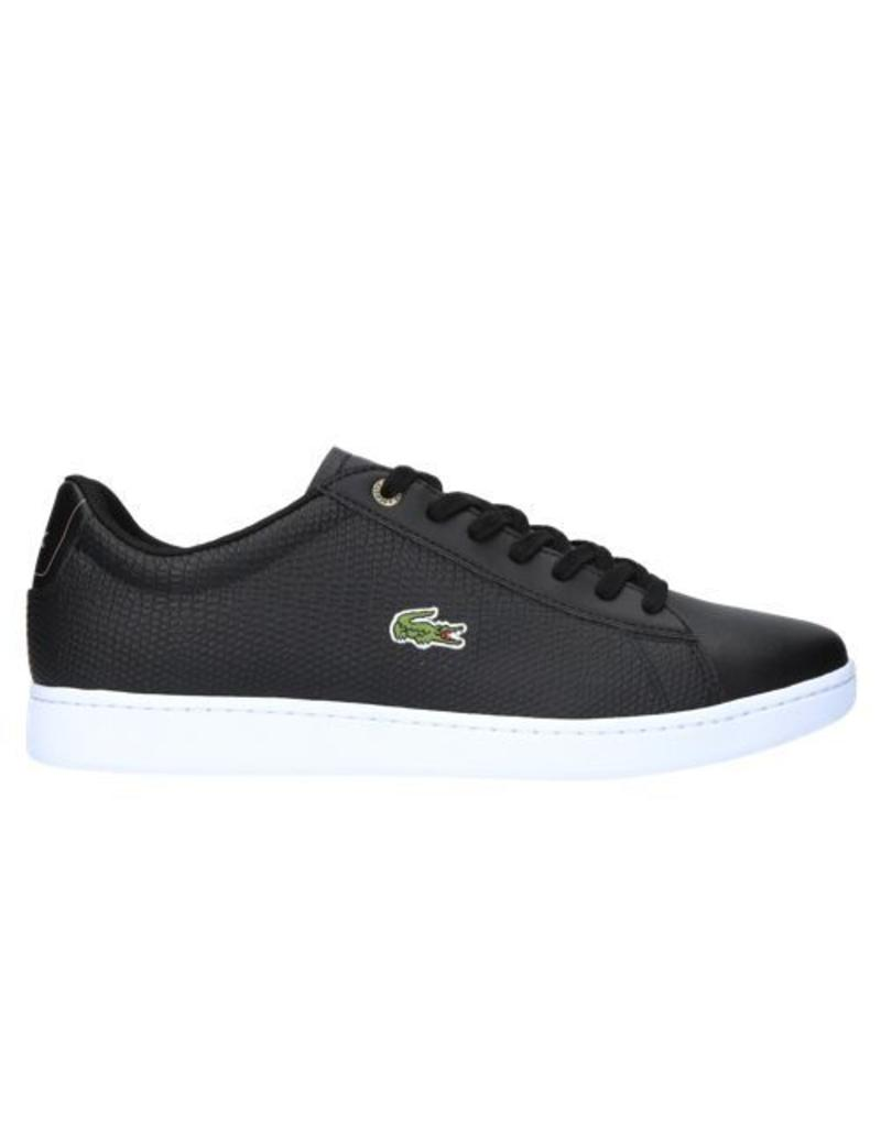 Chaussures De Sport Lacoste Noir Carnaby Evo Hommes Y28tfUAo6