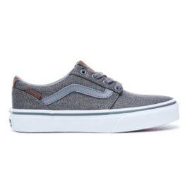 Vans YT Chapman Stripe grijs blauw sneakers kids