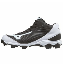 Mizuno 9-Spike Advance Franchise Mid 9 zwart outdoor schoenen uni