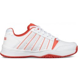 K-Swiss Court smash omni wit tennisschoenen kids